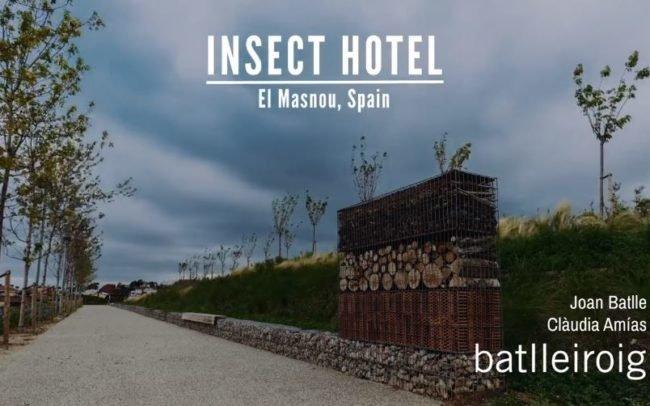 Insect Hotel – Vallmora Park Barcelona