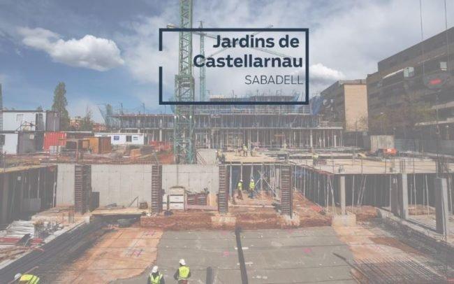 Avance de obra Jardins de Castellarnau
